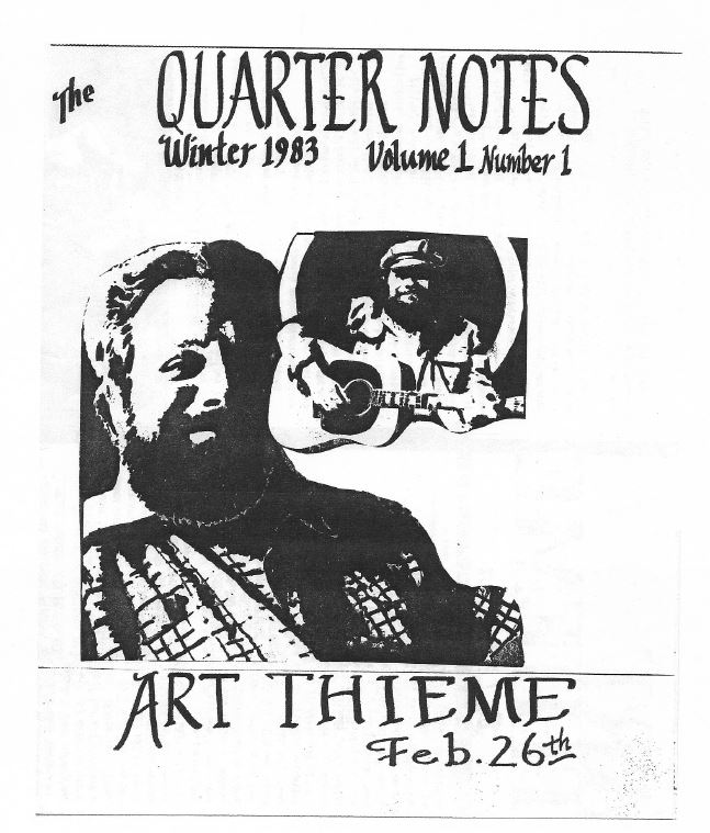 Quarternotes First Issue 1983